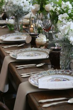 DINING AL FRESCO - There is nothing more than a beautifully set table in the spring, especially when the party takes place on a cool night.