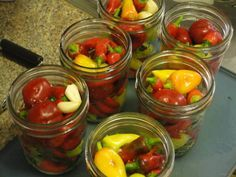 Canning Peppers