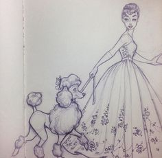 4 things you should know before adopting a poodle Character Drawing, Character Illustration, Illustration Art, Cool Drawings, Art Drawings Sketches, Sketch Drawing, Sketching, Poodle Drawing, Timberwolf