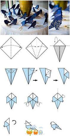 origami oiseau