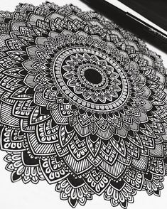 For those who appreciate the little details. Q&A? Ask me anything :) #mandala #murderandrose
