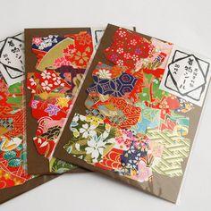 Japanese Yuzen Washi Paper Sticker Pack - Kimono Dress, £2.99