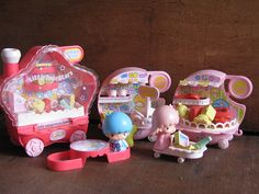 Little Twin Stars train playset vintage 1976 by Siri_Mae_doll, via Flickr