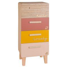 Mobiletto portatutto multicolore con 4 cassetti | Maisons du Monde