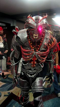 Experimental cybernetic demon cosplay