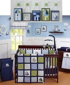 Name Blocks . Nursery Name Blocks . Nursery Decor . Baby Name Blocks . Hanging Wood Name Blocks . Bedding . M2M Zachary . Nautica Kids. $19.00, via Etsy.