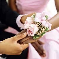 pulseras con flores naturales