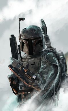 Boba Fett by David Seguin.  Doesn't matter what you're telling yourself, you know you're going to watch Star Wars VII