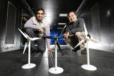 Engineers study the benefits of adding a second, smaller rotor to wind turbines - http://scienceblog.com/77391/engineers-study-the-benefits-of-adding-a-second-smaller-rotor-to-wind-turbines/