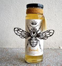 Harrods Honey Label on Behance