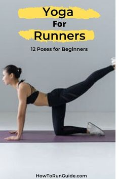 Yoga For Runners! - Yoga for Runners: 12 Essential Yoga Poses for Beginners - Yoga Meditation, Yoga Flow, Partner Yoga, Meditation For Beginners, Yoga Poses For Beginners, Yoga Inspiration, Beginner Stretches, Stretching Exercises, Strength Training For Beginners