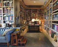 Book lover's dream- home of artist Richard Murray-Houzz-Sarah Greenman photo
