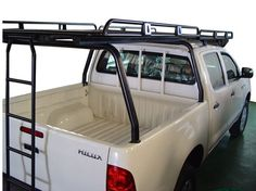 Roof Rack for Toyota Hilux. Truck Roof Rack, Truck Flatbeds, Truck Bed Camper, Truck Tent, Truck Camping, Pickup Trucks, Roof Racks For Trucks, Lifted Trucks, Truck Accesories