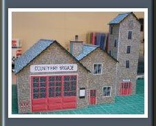 Townscene Fire Station