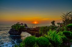 Photo Sunset to tanah lot bali by Sumate Opasanon on 500px