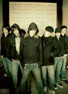 Alesana, back when they were good. Love this photo.