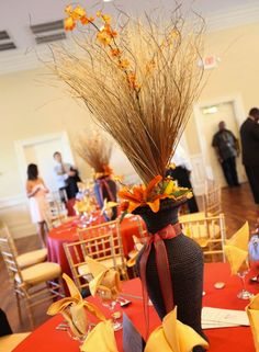 African Themed Centre Piece Wedding Theme Weddings Traditional