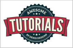 20 Dextrous Adobe Illustrator Logo Design Tutorials retro badge in adobe illustrator