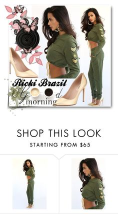 """""""Ricki Brazil"""" by selmina ❤ liked on Polyvore featuring Valentino, Lulu*s, women's clothing, women, female, woman, misses and juniors"""