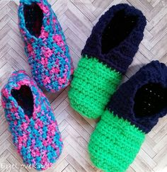 Quick and Easy Slipper Socks in 9 Women's Sizes – Free Crochet Pattern