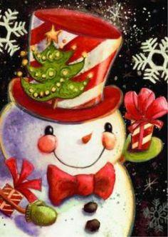 NEW LARGE TOLAND HOUSE FLAG SNOWFLAKE SNOWMAN CHRISTMAS WINTER FLAG 28 X 40  #Toland  Love! So cute!