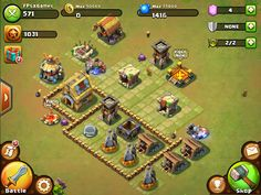 Castle Clash IOS game like Clash of Clans.  #clashofclans #iosgames