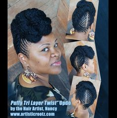 Beautiful natural hairstyles by Artistic Rootz….. | Black Women Natural Hairstyles
