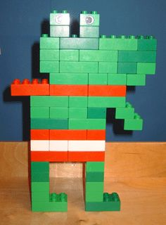 Lego/ duplo kikker