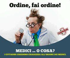 Chiediamo all'Ordine dei Medici di fare ordine e tutelare i pazienti dai medici che non rispettano il codice deontologico!  #ordinefaiordine  https://www.facebook.com/iovaccino/posts/1324367317587003:0