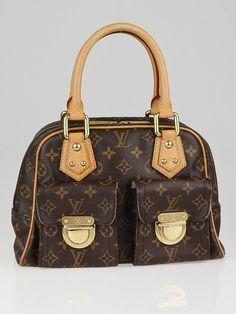 Louis Vuitton Monogram Canvas Manhattan PM Bag #bags #fashion