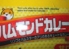 cheerful hamster curry