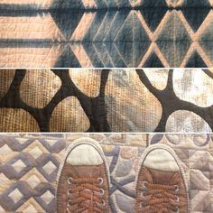 Détails de quilts vu au festival international de patchwork de sitges (2018)