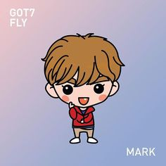 Mark, another fanart for the fly series :) prep for their concert in SG  #got7 #gotoon #mark #got7mark #마크 #got7fly #갓세븐
