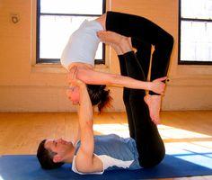Partner Yoga poses!!!