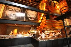upscale asian restaurant interior - Google Search