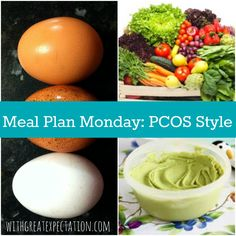 Meal Plan Monday: PCOS Style | With Great Expectation (new meal plan this week)