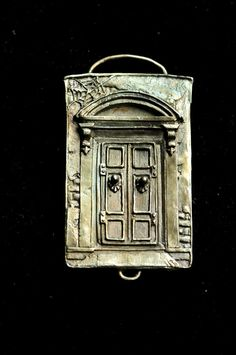 Awesome Etsy listing at https://www.etsy.com/pt/listing/212074555/door-panel-pendant-solid-sterling