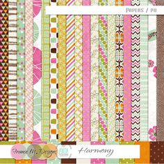 Harmony - Kit by Anita Designs and France M. Designs > the papers