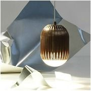Tom dixon - suspension fin obround copper