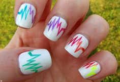 wonderful easy nail art designs 2014 | See more nail designs at http://www.nailsss.com/french-nails/2/