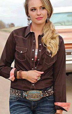 CRUEL GIRL  RODEO Western Barrel ARENA FIT SHIRT COWGIRL NWT large #CruelGirl #Western