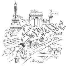 printable paris coloring pages   Paris Coloring pages i watch   Coloring pages to print ...
