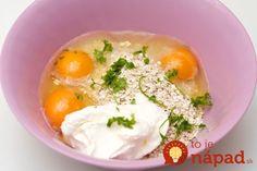 10-minutni-zobeni-kruh-pecivo-1 Whey Protein, Lchf, Oatmeal, Vitamins, Food And Drink, Healthy Eating, Eggs, Gluten Free, Cooking