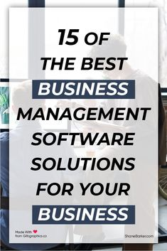 Do you need a business management software solution to automate your business processes? We compare 15 of the best tools, their key features, and pricing information. #business #entrepreneur #startup #businesstips #businessmanagement #startups