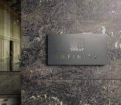 District 8 Residential / Indigo Exterior Signage, Interior And Exterior, Hotel Signage, Indigo, Space, Floor Space, Outdoor Signage, Indigo Dye, Outdoor Signs