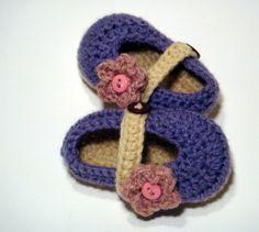 Abigail Slipper - Handmade Shoes. $27.50, via Etsy.