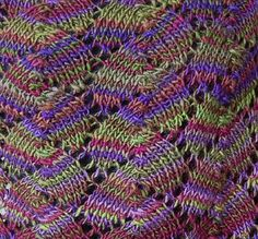 Free Shell Lace Shawl Knitting Pattern