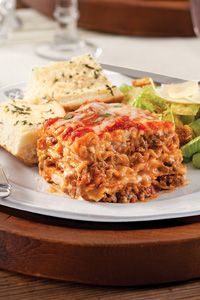 Paula Deen's Lasagna. It has red wine in the sauce. How could it be anything but fabulous?!