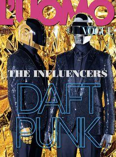 Daft Punk for L'Uomo Vogue