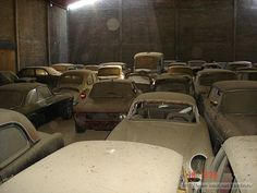 What a great collection of classics auctioned off with the garage in which they are stored.